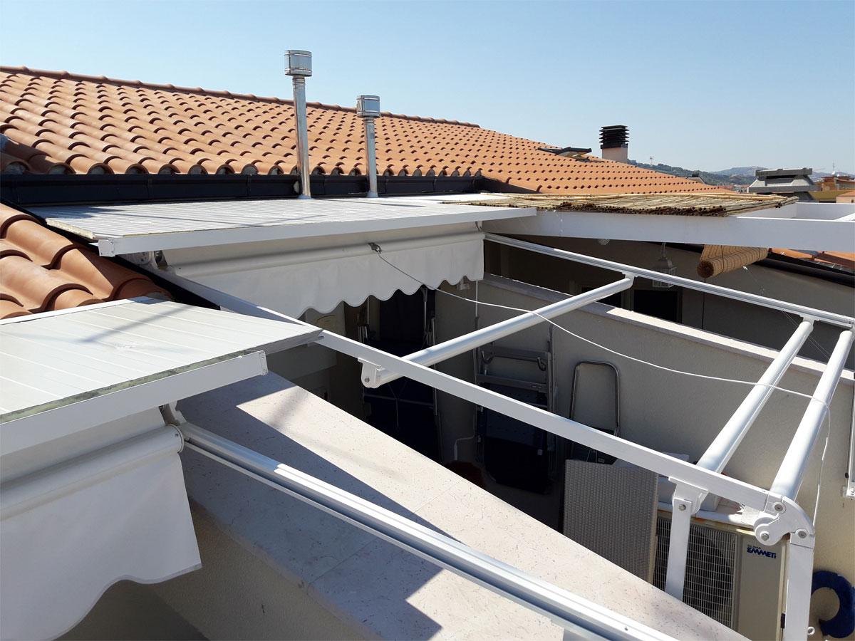 Supporti Per Tende Da Esterno.Tende Da Sole Tendaggi Teramo Rpn Protezione Solare